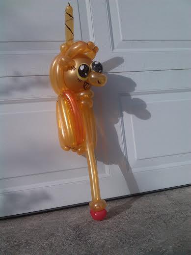 Twilicane Balloon 1 by NoOrdinaryBalloonMan