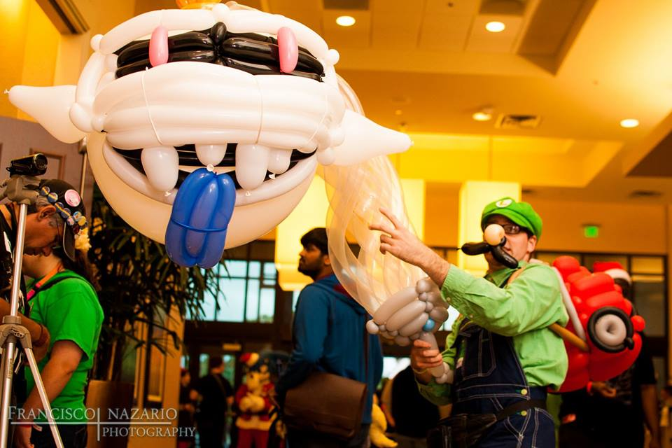 Luigi's Mansion Balloon Cosplay by NoOrdinaryBalloonMan