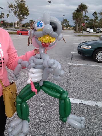 Balloon Zombie by NoOrdinaryBalloonMan