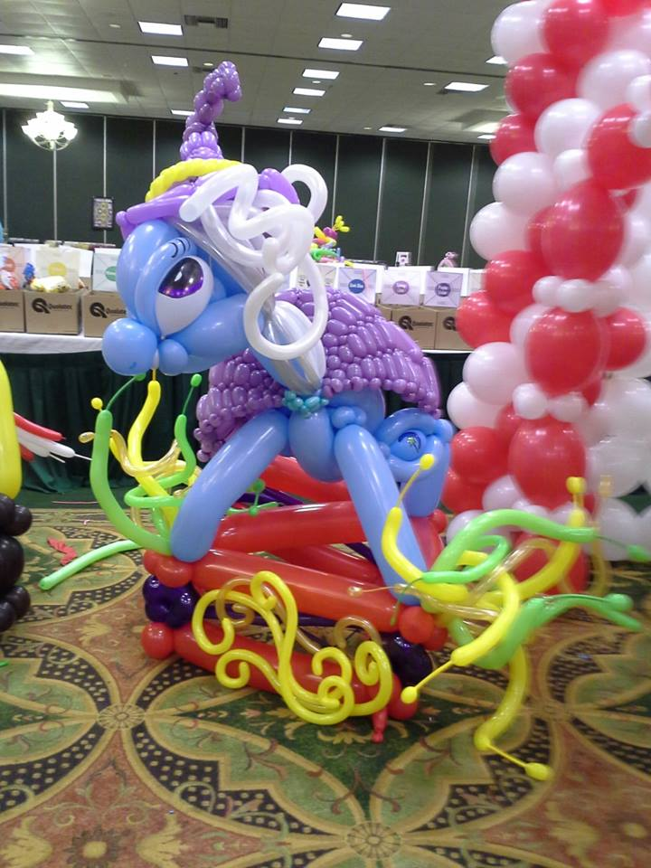Balloon Great And Powerful Trixie by NoOrdinaryBalloonMan