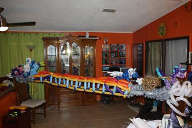MLP Season 5 premier Balloon Bridge scene by NoOrdinaryBalloonMan
