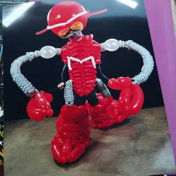 Mandark Bot Balloon Cosplay