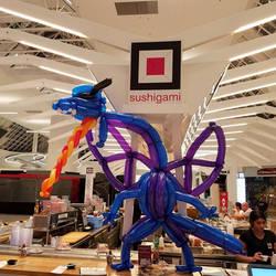Balloon Dragon Sushigami