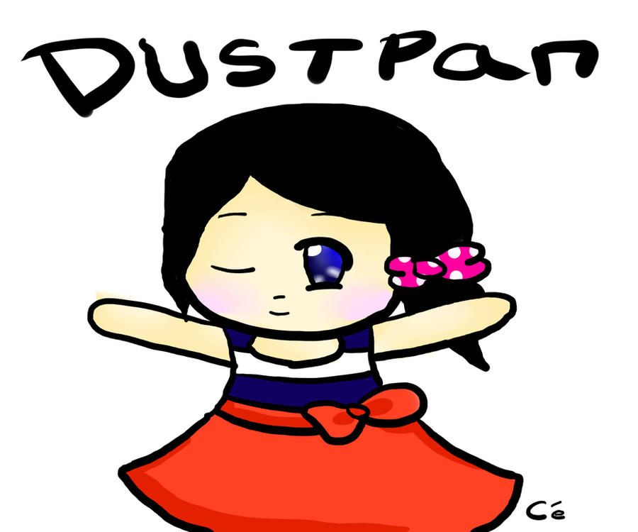 Dustpan Drawing Entry o3o by Cici-Art