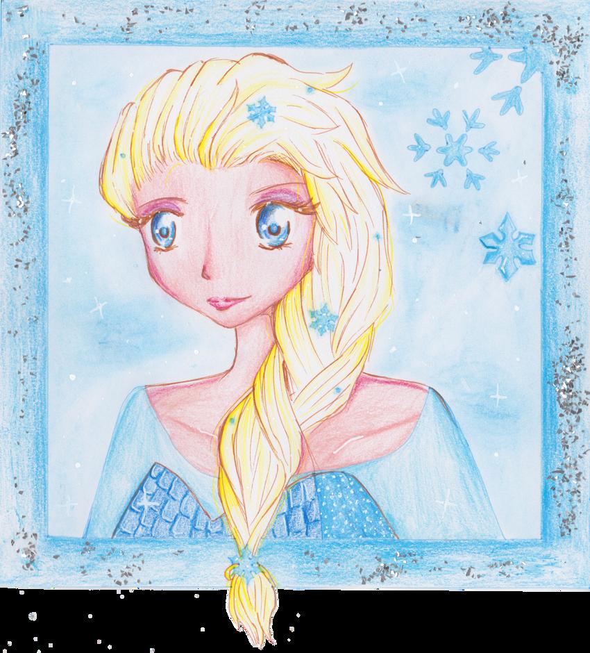 Queen Elsa by MimiStars