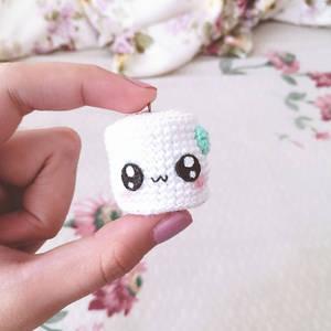 Kawaii marshmallow Amigurumi