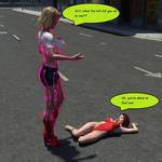 Supergirl vs. The Shrinker