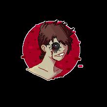 (Jasper) Pixel Headshot {My first pixel} by AmberSpyder