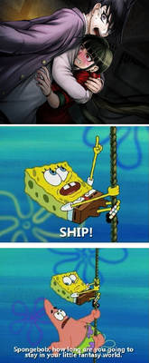 Spongebob is me in this