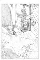 horror piece pencils by Wes-StClaire