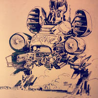 Mecha ink by Wes-StClaire