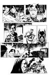 Catwoman P1 inks