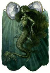 The Mermaid's Purse by leedawnillustration