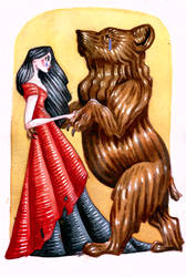 The Dancing Bear by leedawnillustration