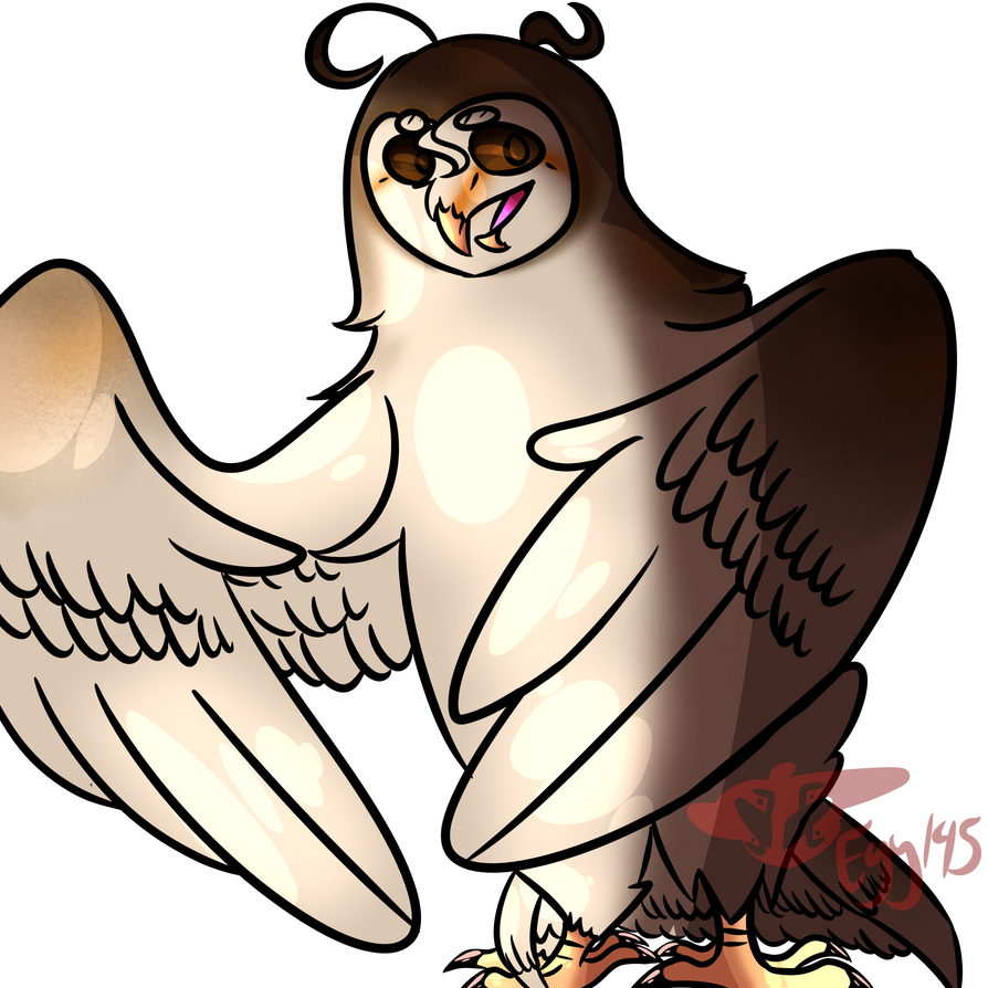 Tom the barn owl by EggTheTalonflame145