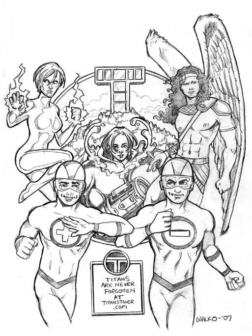 The Forgotten Titans by BillWalko