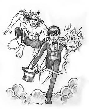 Zatara And Kid Devil