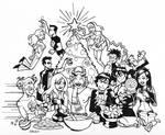 Teen Titans Christmas