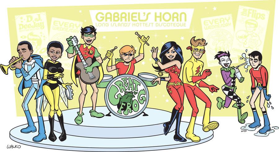 """Teen Titans """"Gabriels' Horn"""" by BillWalko"""