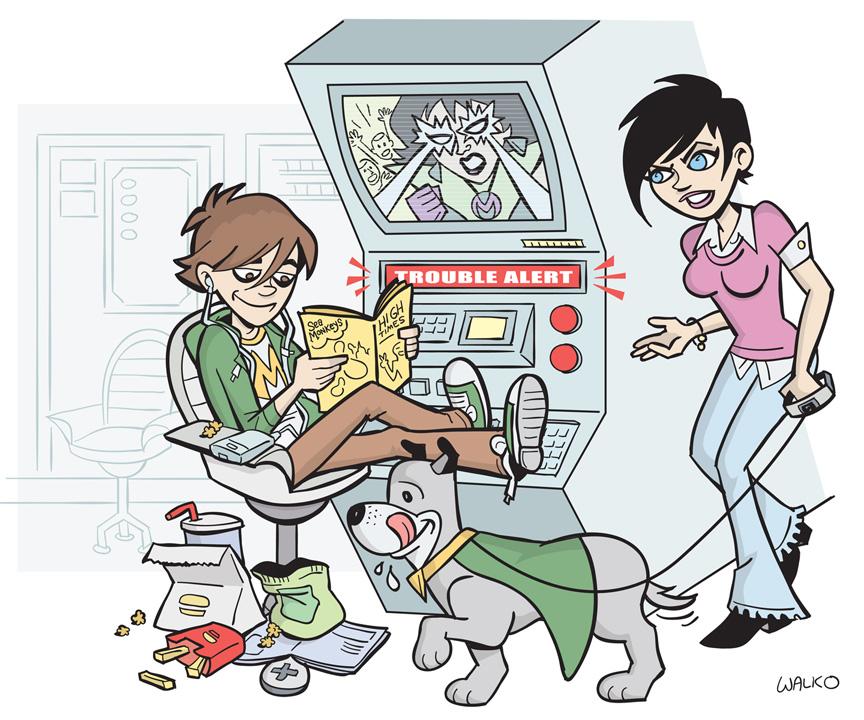 Superfriends Wendy and Marvin by BillWalko