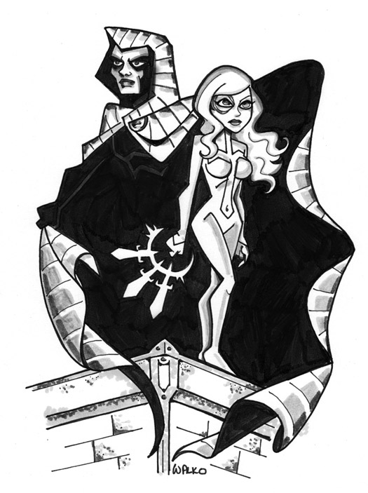 Cloak and Dagger Vigilant by BillWalko
