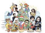 Teen Titans Christmas 2010