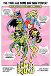 The Power Squad Retro Ad