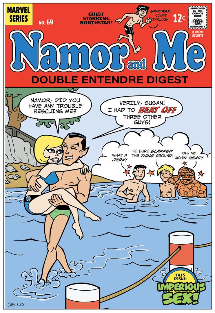 Namor and Me by BillWalko