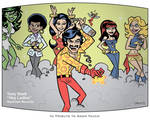 Tony Stark Hey Ladies by BillWalko
