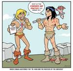 When Conan Met He-Man by BillWalko