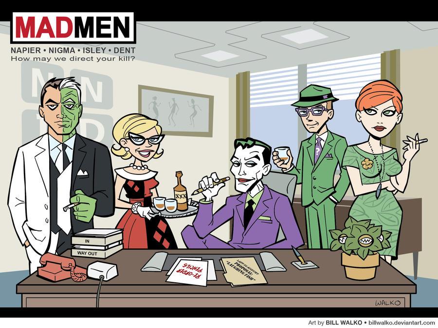 Gotham Mad Men by BillWalko