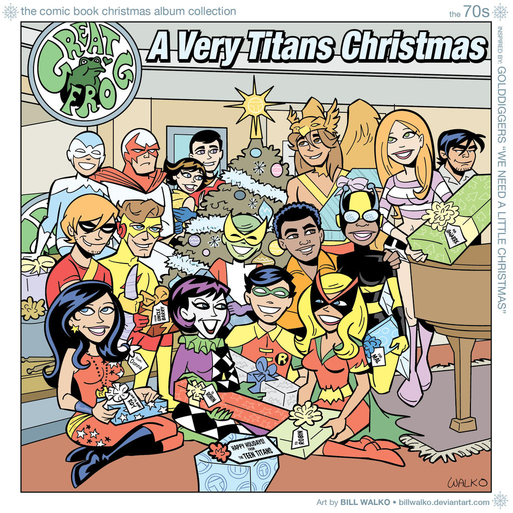 A Very Titans Christmas by BillWalko