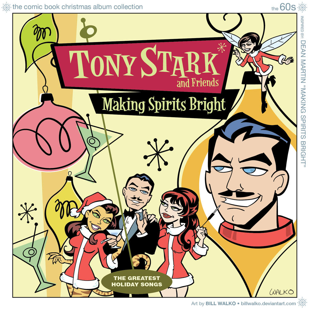 Tony Stark Is Making Spirits Bright by BillWalko