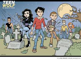 Teen Wolf by BillWalko