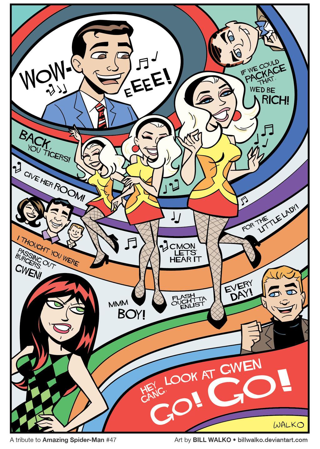 Go Go Gwen Stacy by BillWalko