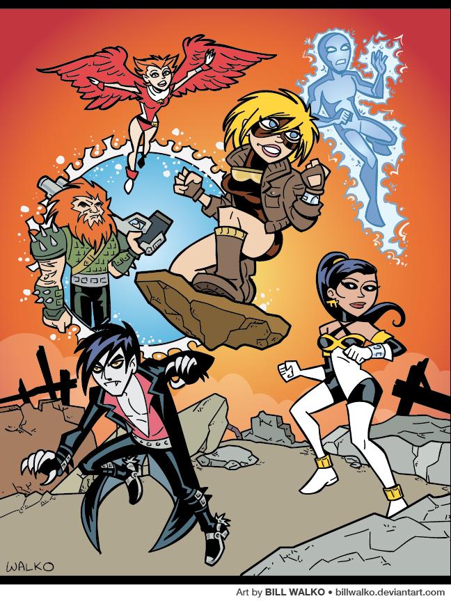 Team Titans by BillWalko