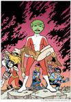 Teen Titans: Judas Contract Homage