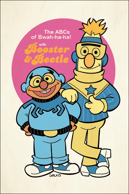 Ernie and Burt, Booster and Beetle