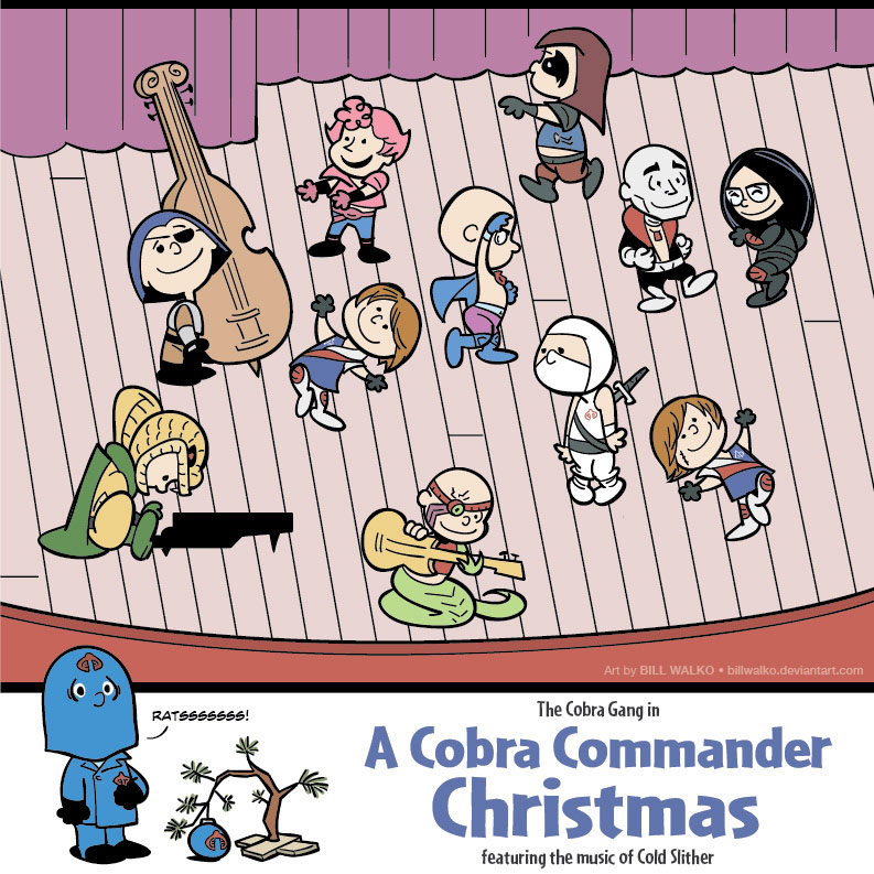 A Cobra Commander Christmas Special by BillWalko