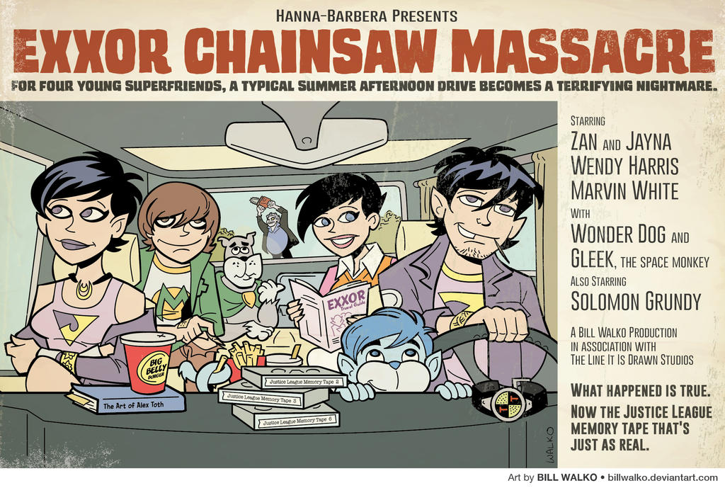 Exxor Chainsaw Massacre by BillWalko
