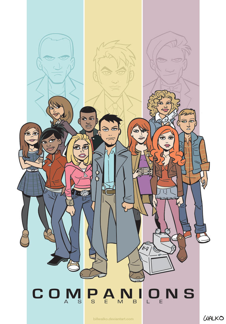 Companions Assemble! by BillWalko