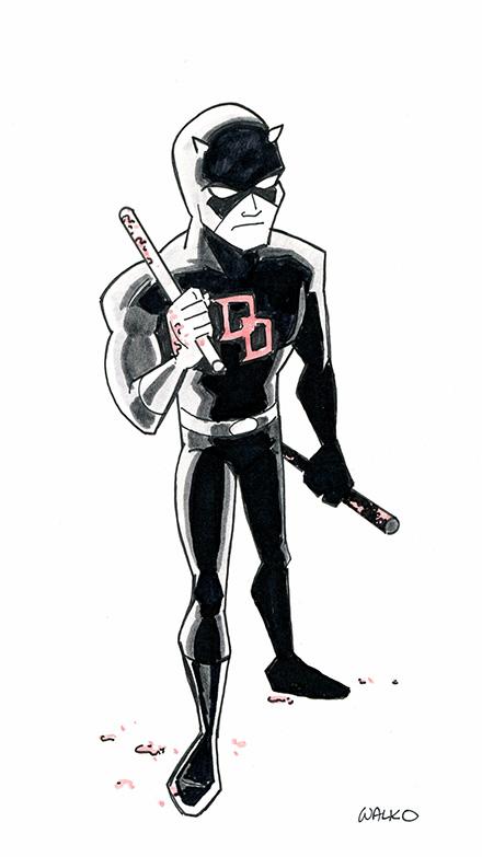 Daredevil East Coast Comic Con 2015 by BillWalko