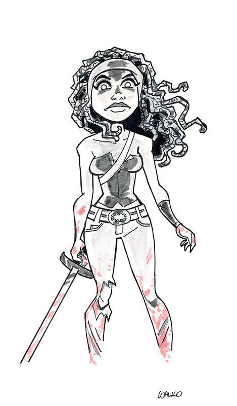 Michonne at East Coast Comic Con 2015 by BillWalko