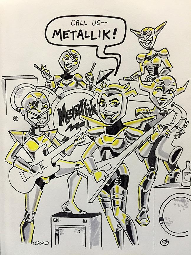 Metallik of Team Titans NYCSE 2015 by BillWalko