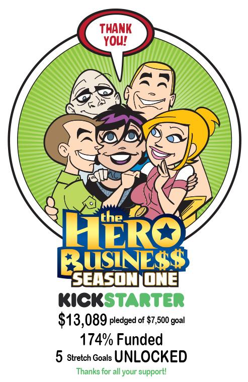 Kickstarter Thanks by BillWalko