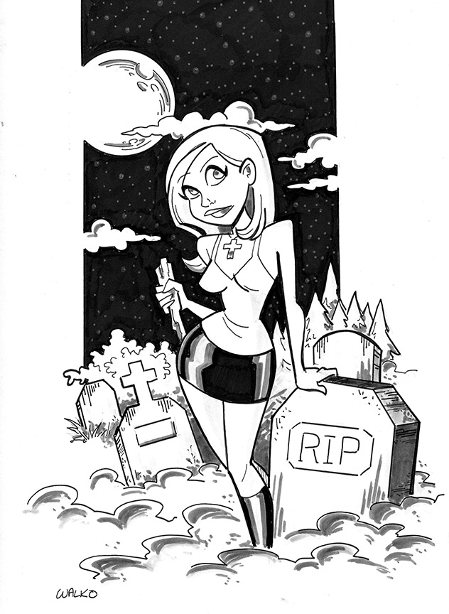 Buffy - Kickstarter Reward by BillWalko