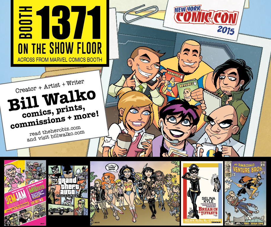 New York Comic Con 2015 by BillWalko