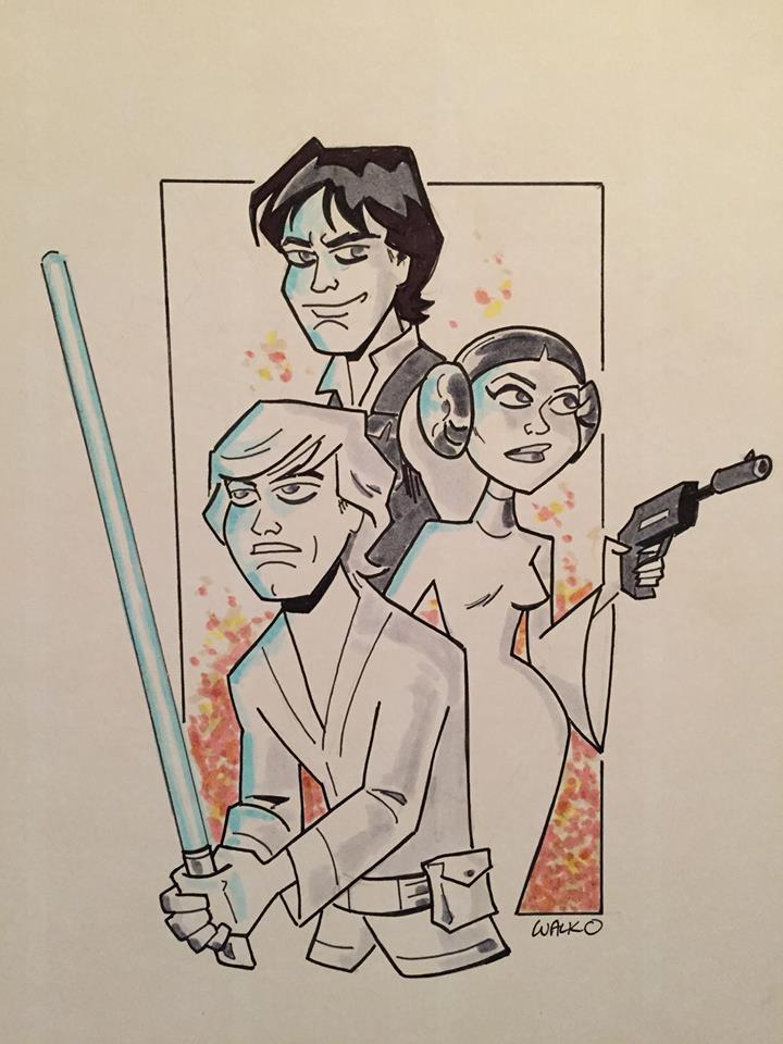 The Force Awakens by BillWalko