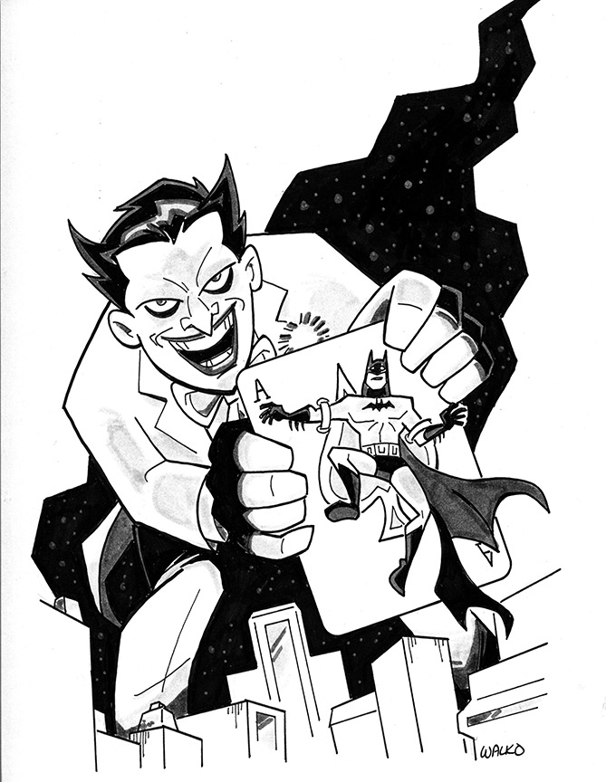 Joker Kickstarter Commission by BillWalko