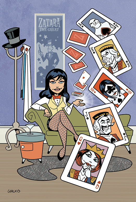 Zatanna v The Royal Flush Gang by BillWalko